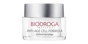 Biodroga - ANTI-AGE CELL FORMULA - Straffende Nachtpflege