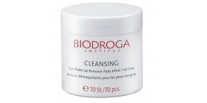 Biodroga Cleansing Eye Make Up Remover Pads ölfrei 70 Stck